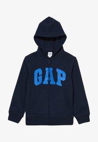 GAP - BOY FLIPPY ARCH  - Mikina na zip - blue galaxy - 3