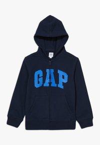 GAP - BOY FLIPPY ARCH  - Mikina na zip - blue galaxy - 0