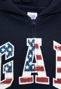 GAP - BOY NEW AMERICANA LOGO HOOD - Zip-up hoodie - blue galaxy - 2