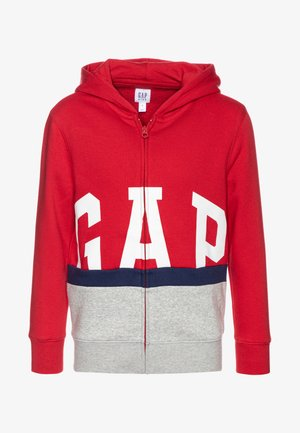 BOY LOGO - veste en sweat zippée - modern red
