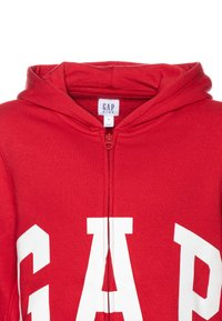 GAP - BOY LOGO - veste en sweat zippée - modern red