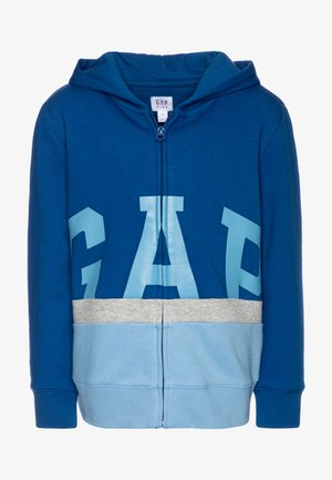 BOY LOGO - Zip-up hoodie - blue edge