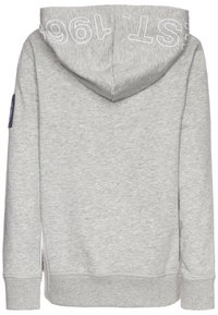 GAP - BOY - Bluza z kapturem - light heather grey