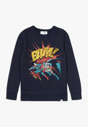BOY CREW - Sweatshirt - blue galaxy
