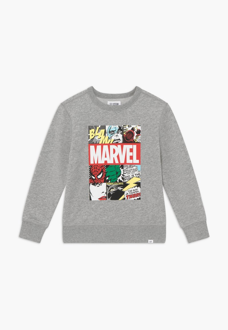 GAP - BOY CREW - Sweatshirt - light heather grey