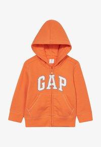 GAP - TODDLER BOY LOGO  - Bluza rozpinana - sport orange - 2