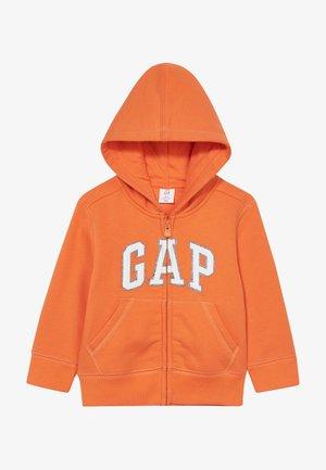 TODDLER BOY LOGO  - Zip-up hoodie - sport orange