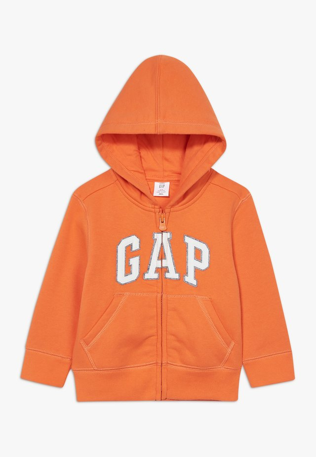 TODDLER BOY LOGO  - Zip-up hoodie - sport orange