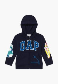 GAP - TODDLER BOY LOGO - Sudadera con cremallera - tapestry navy - 0