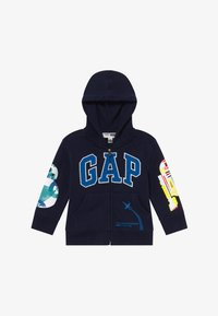 GAP - TODDLER BOY LOGO - Sudadera con cremallera - tapestry navy - 4