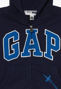 GAP - TODDLER BOY LOGO - Sudadera con cremallera - tapestry navy - 5