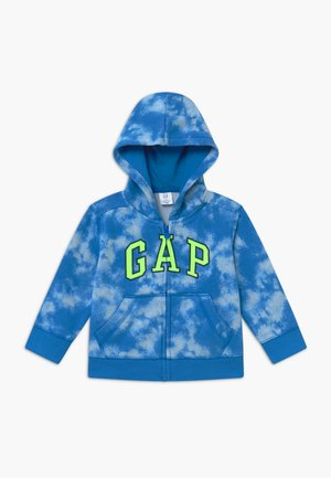 TODDLER BOY LOGO PRINT - Felpa aperta - blue burst