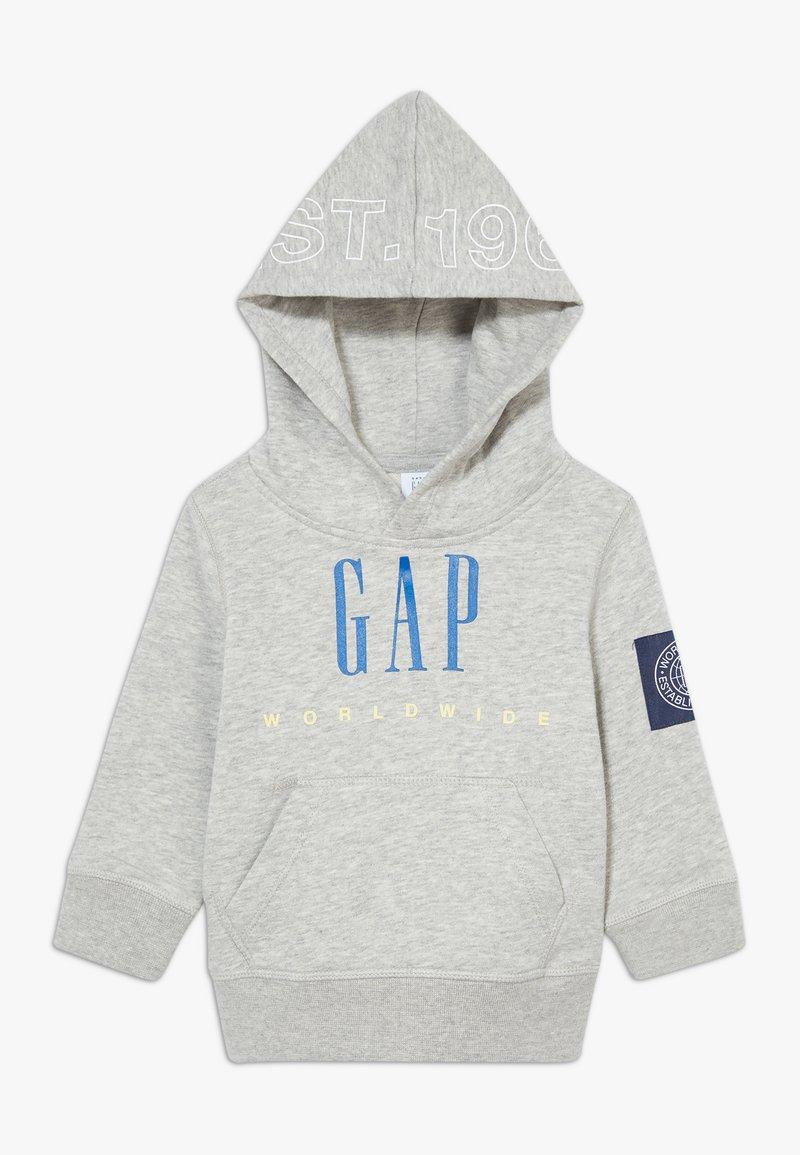GAP - TODDLER BOY FAMILY MOMENT HOOD - Hoodie - light heather grey