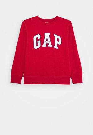 BOY LOGO CREW - Sweatshirt - modern red