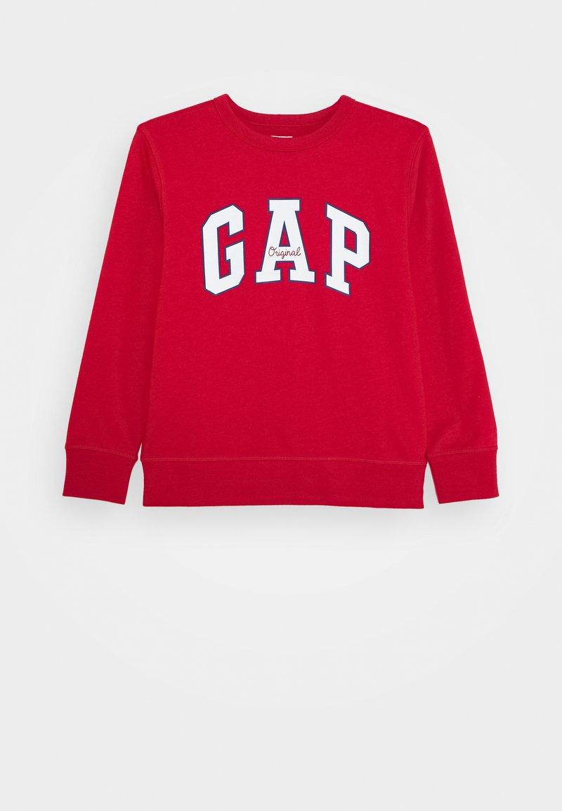 GAP - BOY LOGO CREW - Sweatshirt - modern red