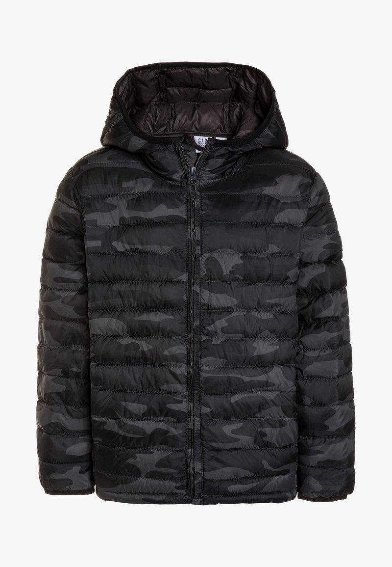 GAP - BOYS CAMO  - Winter jacket - black