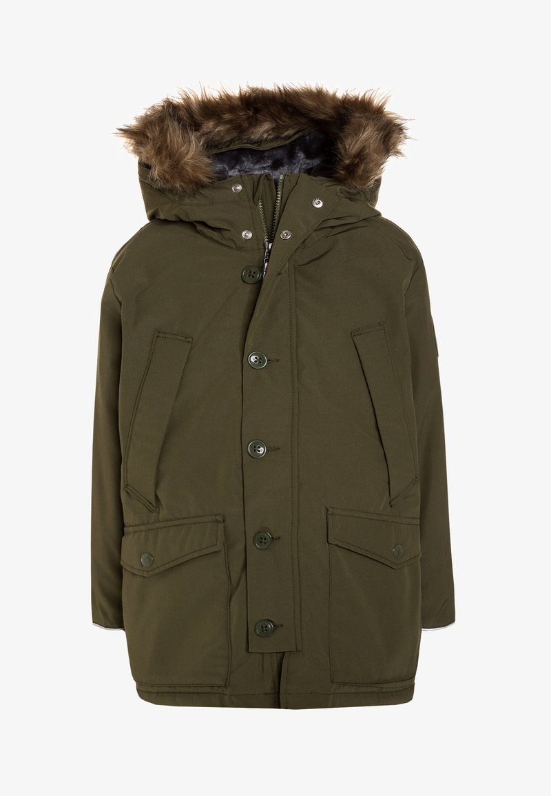 GAP - BOYS - Down coat - army green