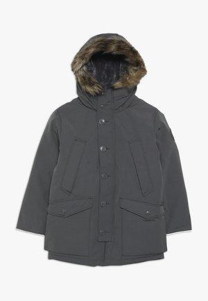 BOY WARMEST PARKA - Down coat - blue slate