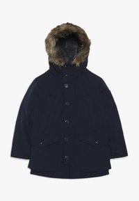 GAP - BOY WARMEST PARKA - Kabát zprachového peří - tapestry navy - 0