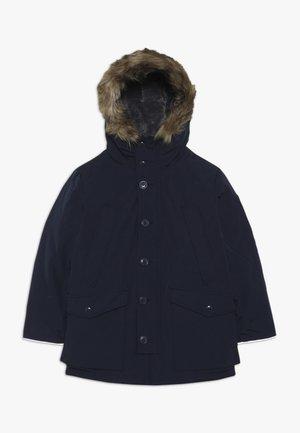 BOY WARMEST PARKA - Kabát zprachového peří - tapestry navy