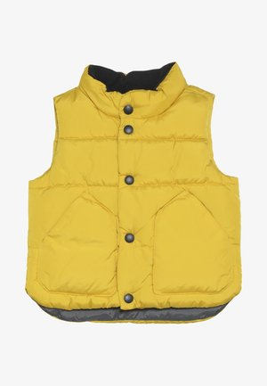 TODDLER BOY WARMEST VEST - Kamizelka - rainslicker yellow