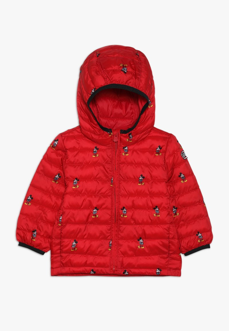 GAP - TODDLER BOY PUFFER - Zimní bunda - pure red