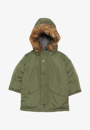 TODDLER BOY WARM SNORKEL - Zimní kabát - desert cactus