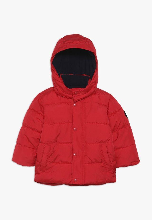 TODDLER BOY WARMEST JACKET - Zimní bunda - pure red