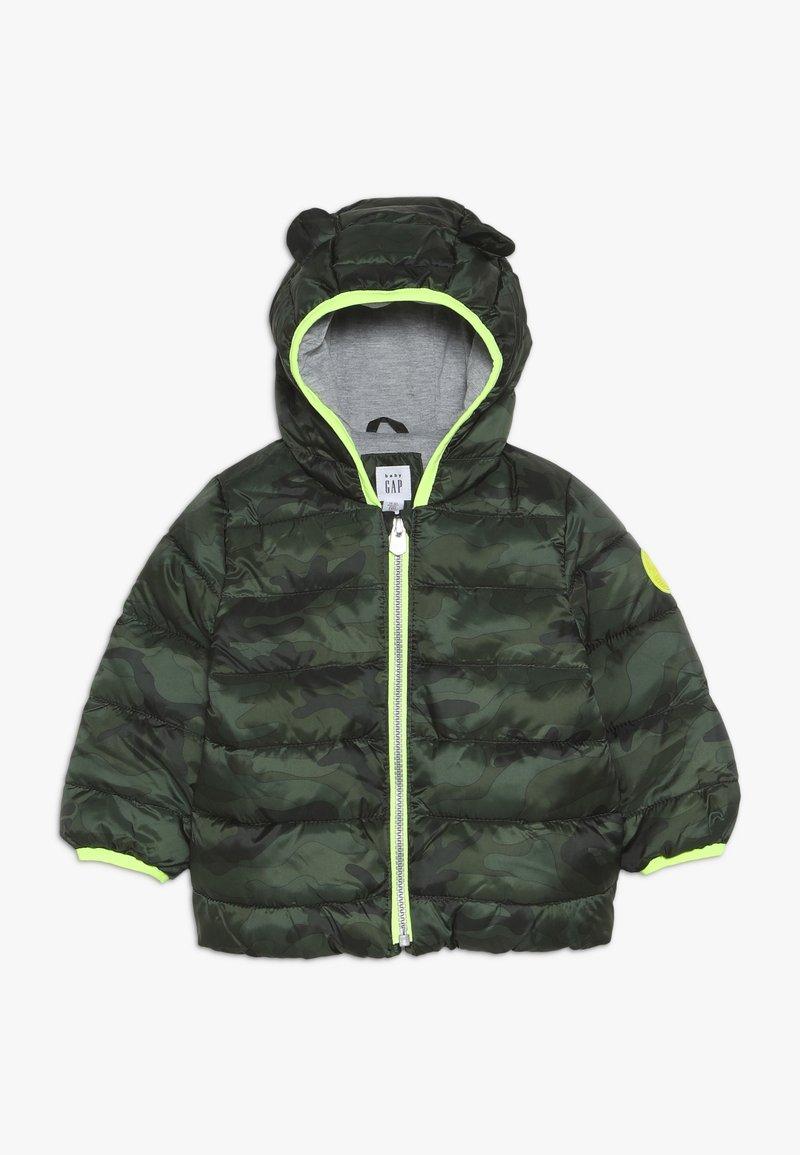 GAP - PUFFER BABY - Winterjas - new juniper green