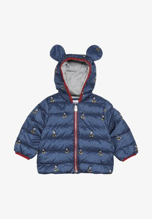 MICKEY MOUSE BABY - Bunda z prachového peří - heather navy