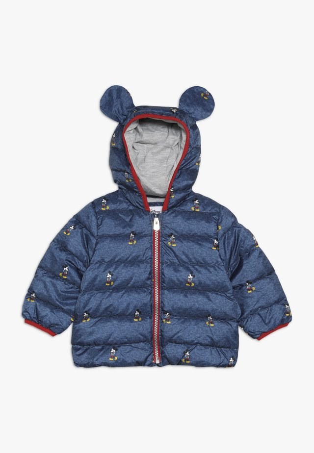 MICKEY MOUSE BABY - Chaqueta de plumas - heather navy