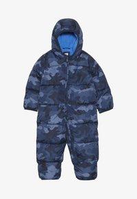 GAP - SNOWSUIT BABY - Kombinezon zimowy - blue - 2