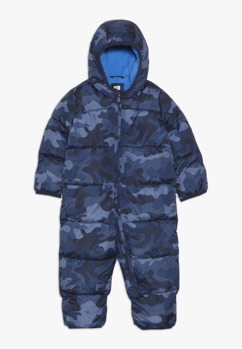 GAP - SNOWSUIT BABY - Mono para la nieve - blue