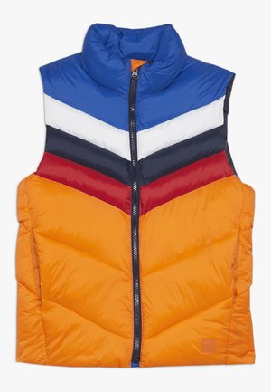 BOY PUFFER VEST - Smanicato - brilliant blue