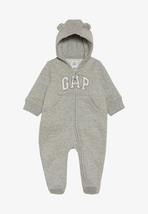 LOGO BEAR BABY - Potkupuku - light heather grey