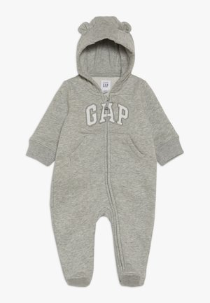 LOGO BEAR BABY - Babygrow - light heather grey