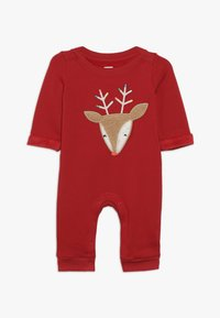 GAP - COZY BABY - Jumpsuit - modern red - 0