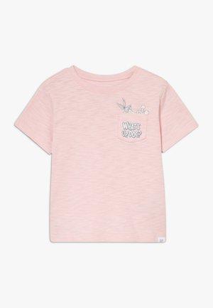 TODDLER BOY BUNNY  - Print T-shirt - minimal pink