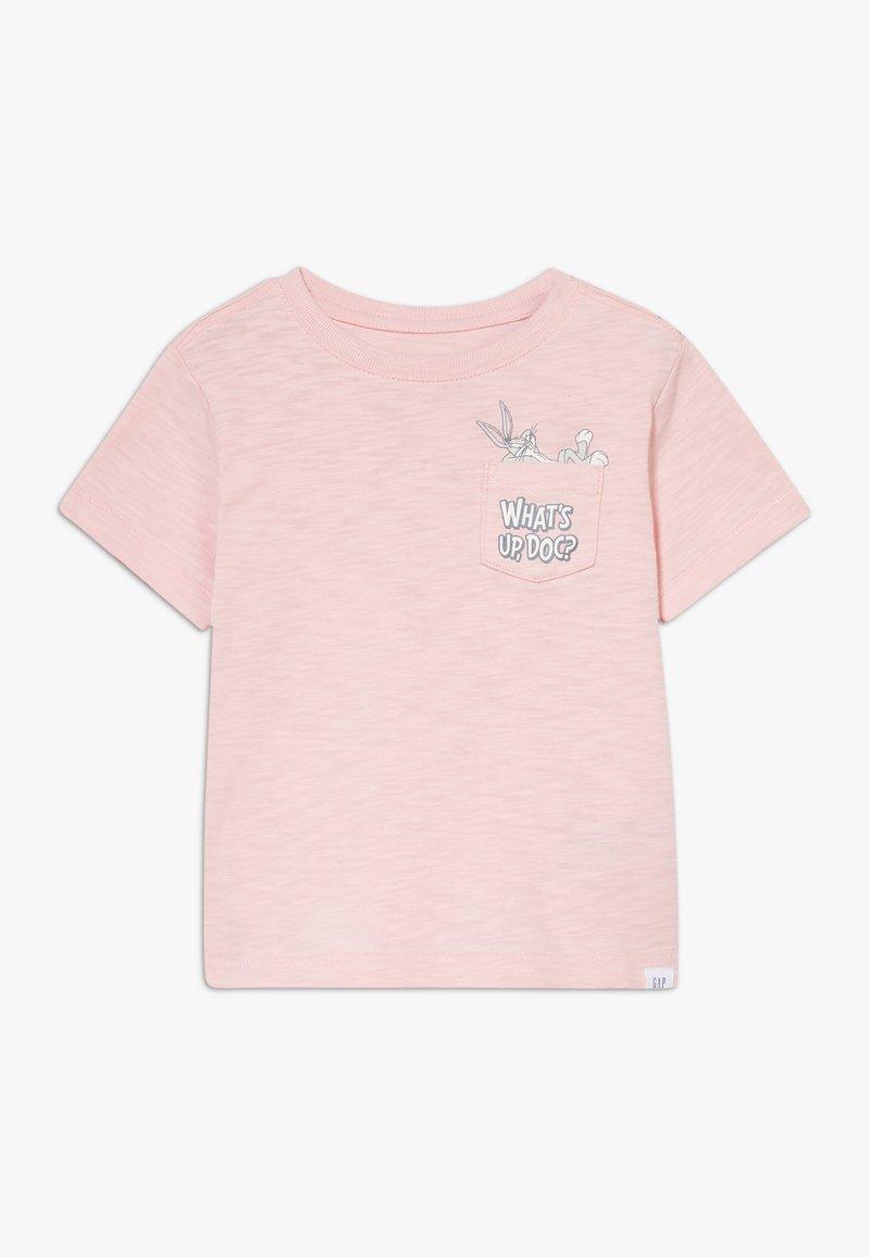 GAP - TODDLER BOY BUNNY  - T-shirt imprimé - minimal pink