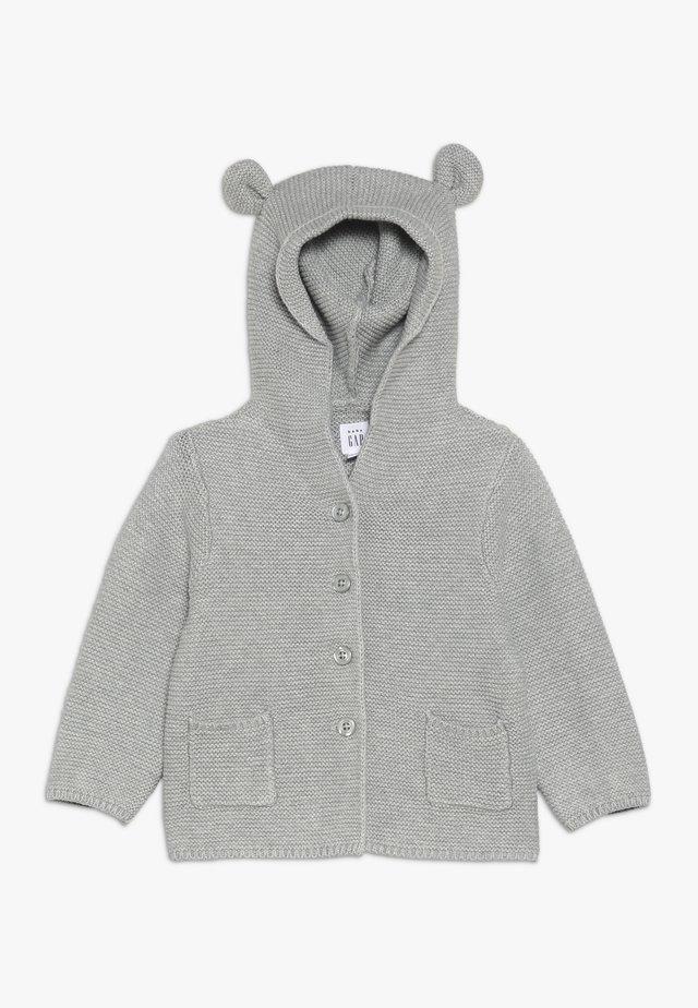 GARTER BABY - Vest - light grey