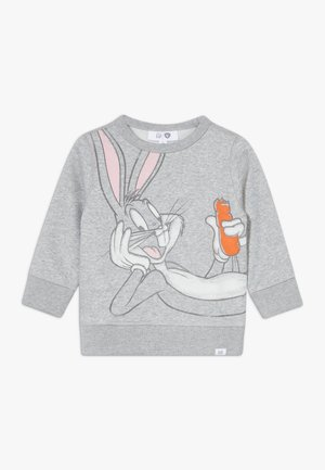 TODDLER BOY NOVELTY CREW - Sweater - light heather grey