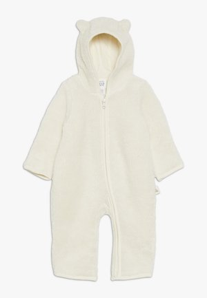 SHERPA BABY - Overal - ivory frost