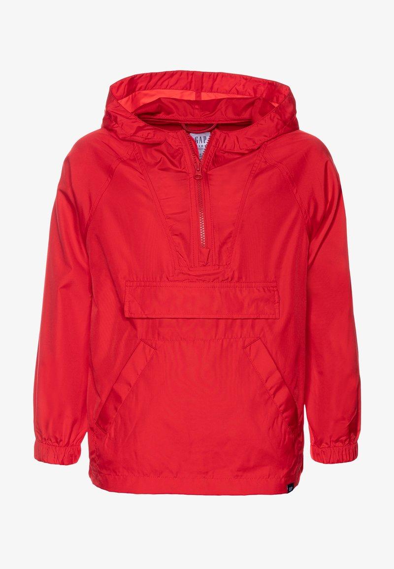 GAP - UNISEX  ANORAK - Light jacket - pure red