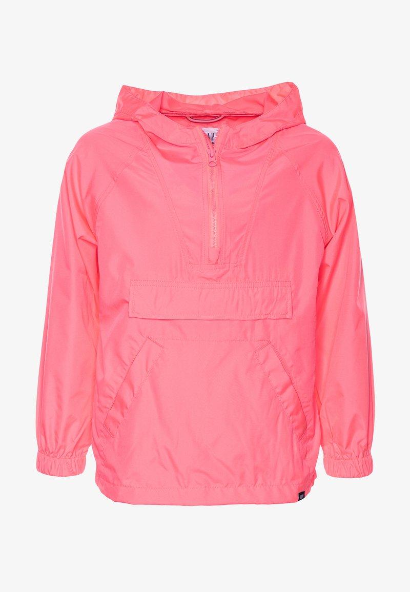 GAP - UNISEX  ANORAK - Light jacket - pink pop neon