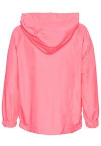 GAP - UNISEX  ANORAK - Light jacket - pink pop neon - 1