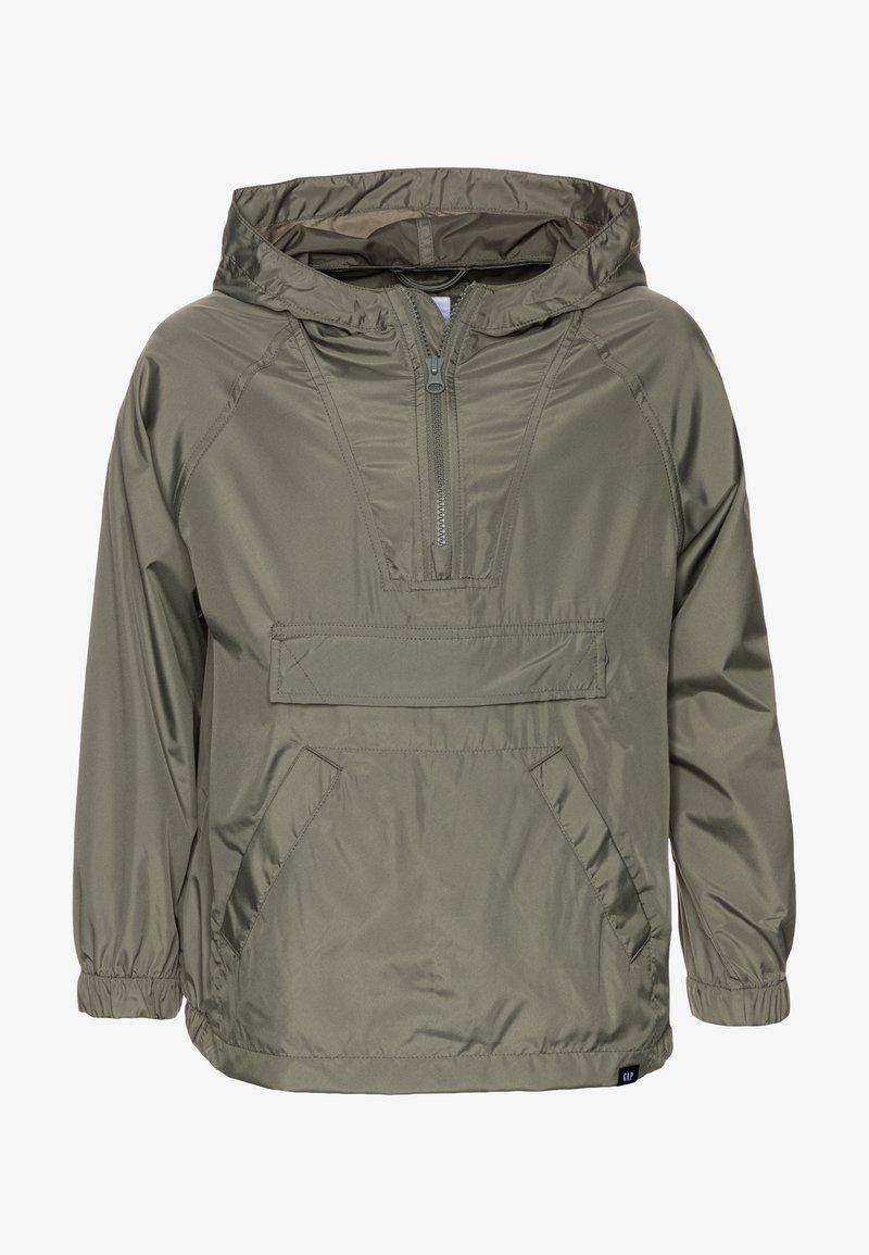GAP - UNISEX  ANORAK - Light jacket - mesculen green