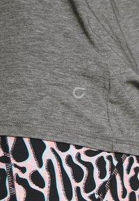 GAP - TIE BACK TANK NON HOT - Sports shirt - heather grey - 5