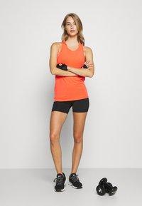 GAP - TIE BACK TANK NON HOT - Sports shirt - fiery coral neon - 1