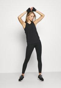GAP - TIE BACK TANK NON HOT - Sports shirt - true black - 1