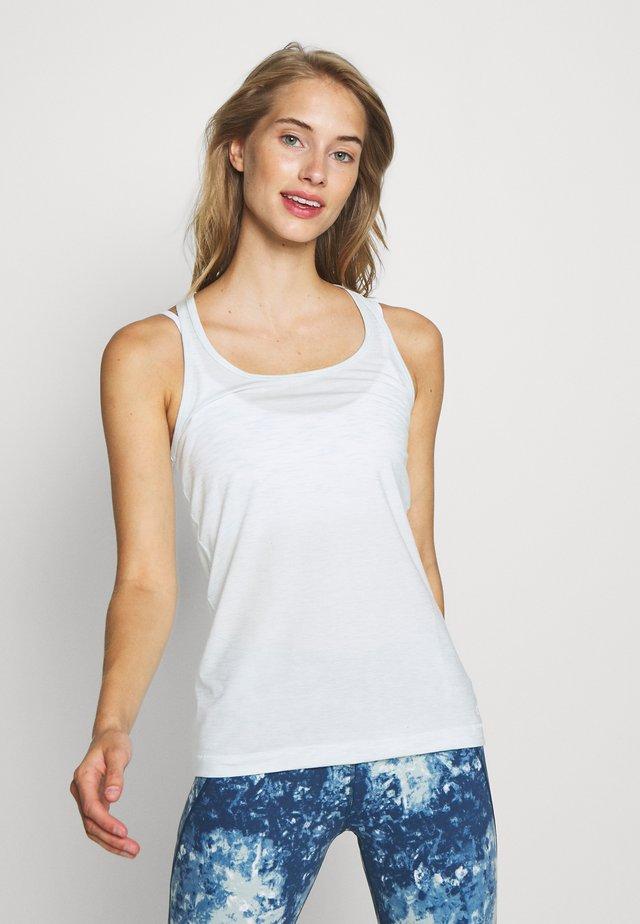 BREATHE TANK FASHION COLORS - Sports shirt - stillwater